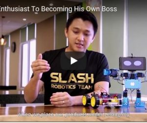 Robotedu – From Robotic Enthusiast To Becoming Own Boss