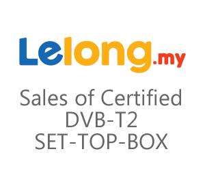 Sales of Certified DVB-T2 SET-TOP-BOX