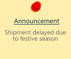Shipping and delivery for Hari Raya Aidilfitri 2019