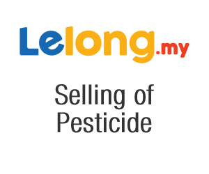 DOA (Department of Agriculture) – Selling of Pesticide in Lelong.my