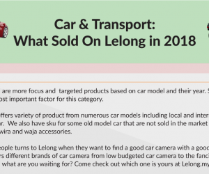 [Infographic] What Sold On Lelong in 2018 : Car & Transport Category