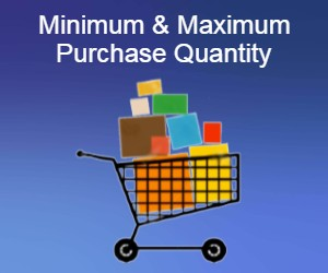 Minimum and Maximum Purchase Quantity